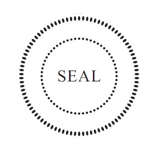 Oversized 2 Blank Seal MaxLight 655 Stamp